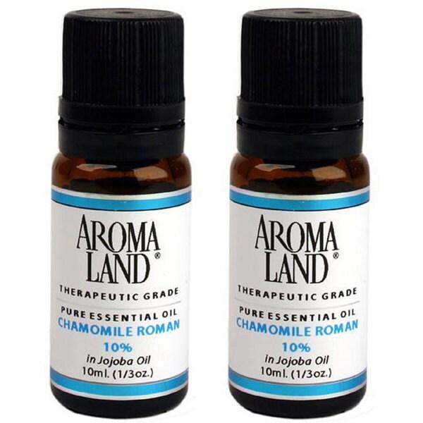 Aromaland Chamomile Roman 10 ml 10-percent Oils (Pack of 2)