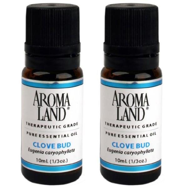 Aromaland Clove Bud Essential Oils (Pack of 2)