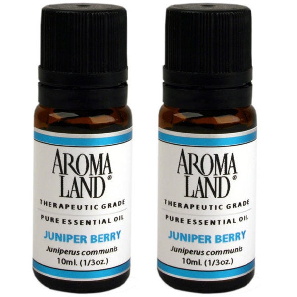 Aromaland Juniper Berry 10 ml Essential Oils (Pack of 2)