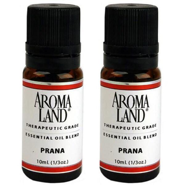 Aromaland Prana 10 ml Essential Oils (Pack of 2)
