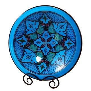 Handmade Sabrine Design 14-inch Medium Serving Bowl (Tunisia)