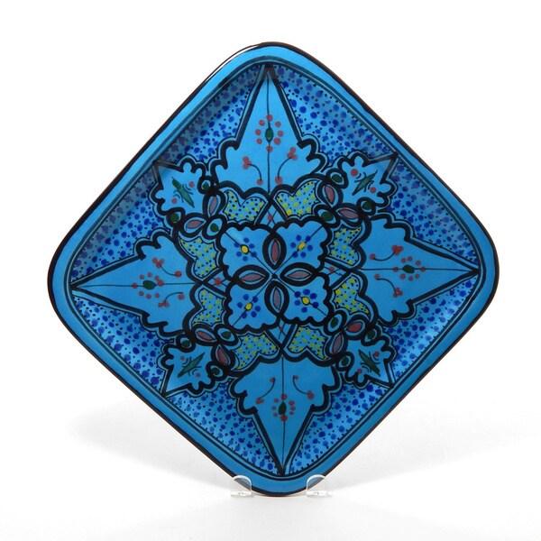 Sabrine Design 11-inch Square Platter (Tunisia)