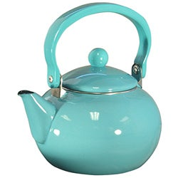 Reston Lloyd Calypso Basics Turquoise Tea Kettle