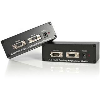 StarTech.com VGA Video Extender over Cat 5 with RS232