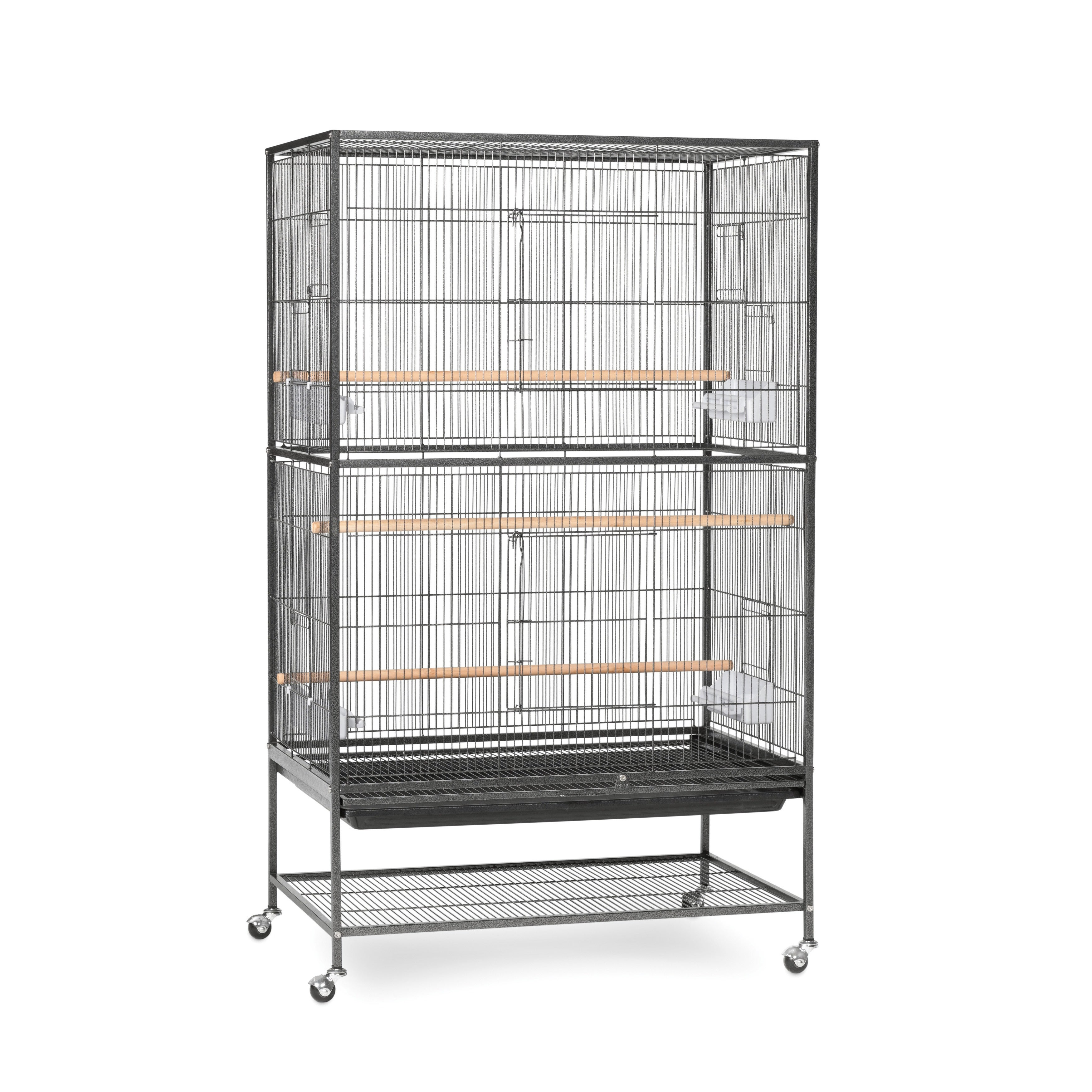 Prevue Pet Products Wrought Iron Flight Cage and Stand (B...