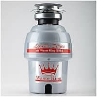 Waste King Legend 9940 Silvertone Stainless Steel 3/4 Horsepower Disposer