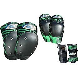MBS PRO Medium Green Tri-pack Pads - Thumbnail 0