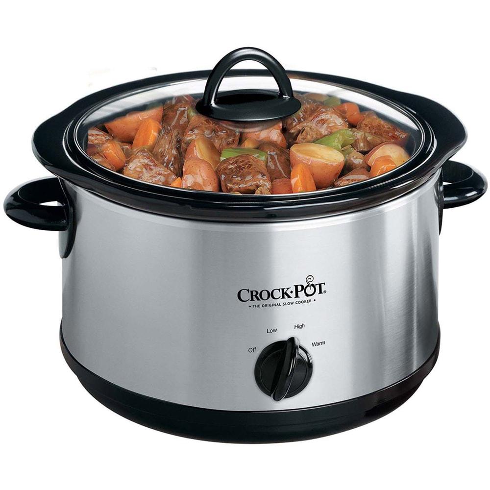Rival Crock-Pot 5-quart Manual Slow Cooker with Little Di...