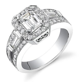 18k White Gold 2 1/8ct TDW Certified Emerald Cut Diamond Ring (I, SI1)|https://ak1.ostkcdn.com/images/products/4126740/P12132438.jpg?_ostk_perf_=percv&impolicy=medium