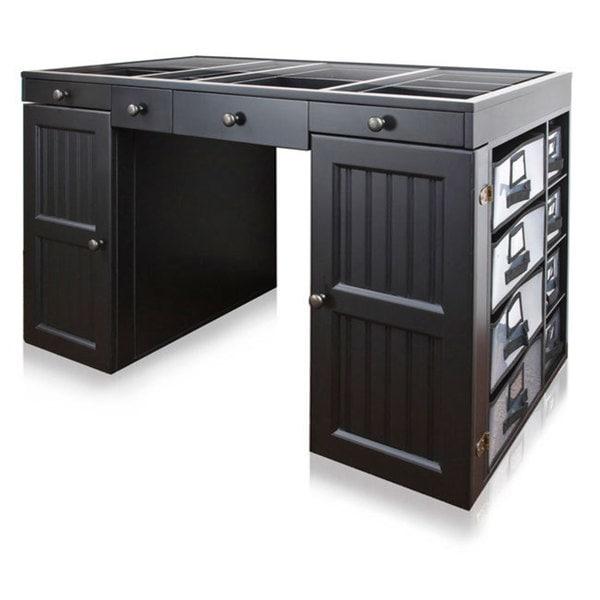 Charmant EZ View Black Craft Desk