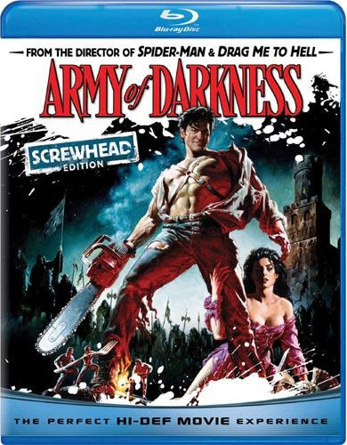Army of Darkness Screwhead Edition (Blu-ray Disc)