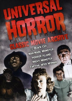 Universal Horror: Classic Movie Archive (DVD)