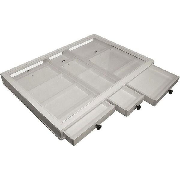 EZ View White Desk Top