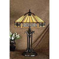 Gracewood Hollow Noli European Tiffany-style Table Lamp