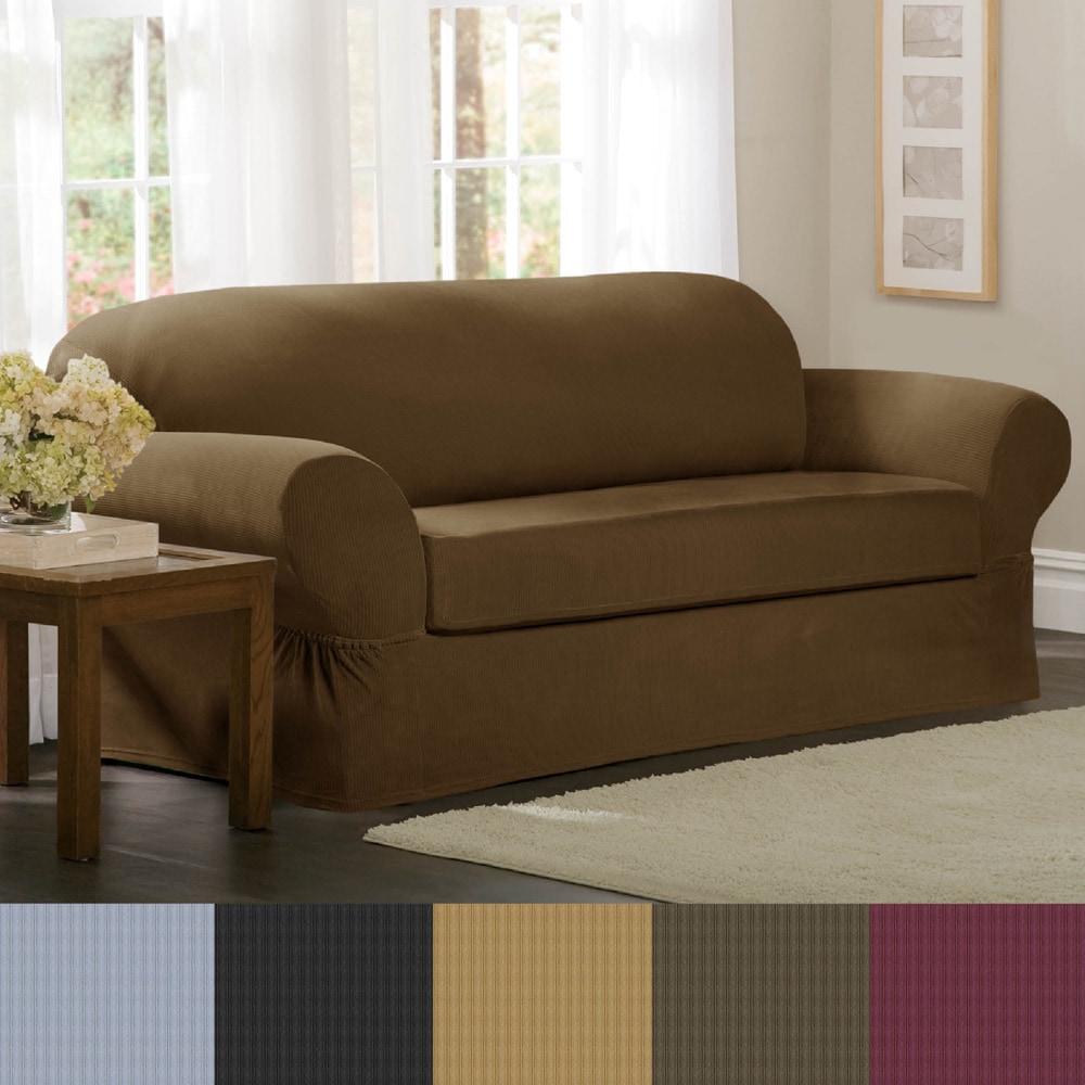 Brown Sofa Slipcover Leather Sofa Slip Cover Ebay Thesofa