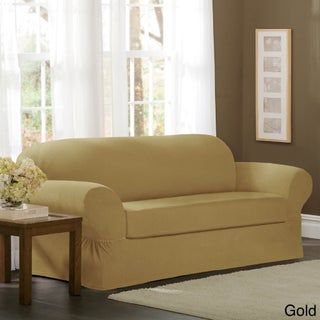 Maytex Collin 2-Piece Sofa Slipcover (Option: Gold)