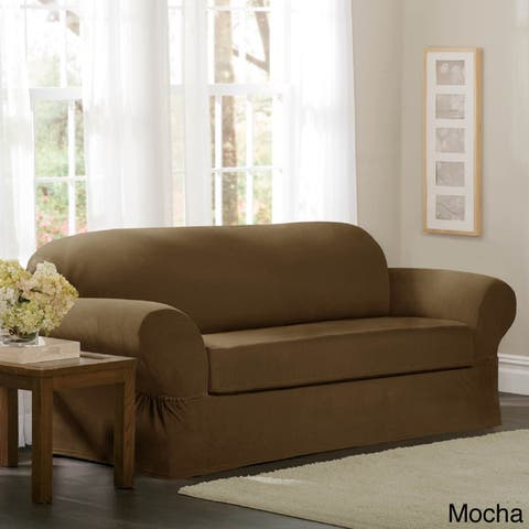 Buy Brown Sofa & Couch Slipcovers Online at Overstock   Our Best ...