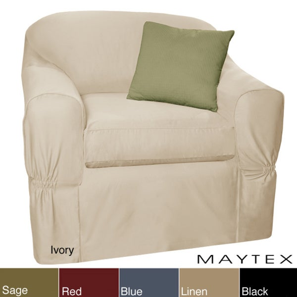 Maytex Piped Twill 2 piece Chair Slipcover Free Shipping  : Maytex Piped Twill 2 piece Chair Slipcover 251a6d05 47fd 4bf0 b4d4 871f22042ee3600 from www.overstock.com size 600 x 600 jpeg 18kB