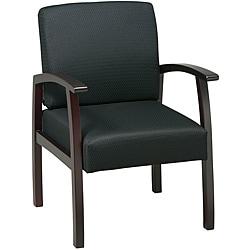 Office Star Black WorkSmart Guest Chair