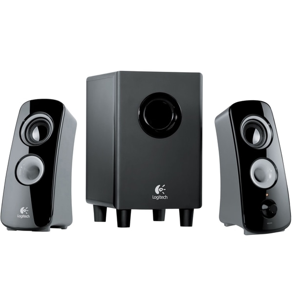 6a895eb2310 Shop Logitech Z323 2.1 Speaker System - 30 W RMS - Free Shipping Today -  Overstock - 4129491