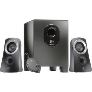 Logitech Z313 2.1 Speaker System - 25 W RMS - Black|https://ak1.ostkcdn.com/images/products/4129495/Logitech-Z313-2.1-Speaker-System-25-W-RMS-Black-P12134505.jpg?impolicy=medium