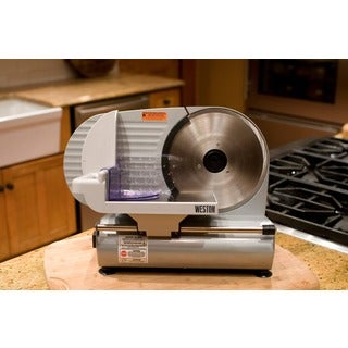Weston Heavy-duty 9-inch CE-approved Food Slicer