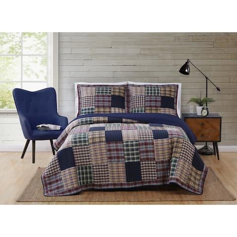 Bradley Cotton 3-Piece Quilt Set