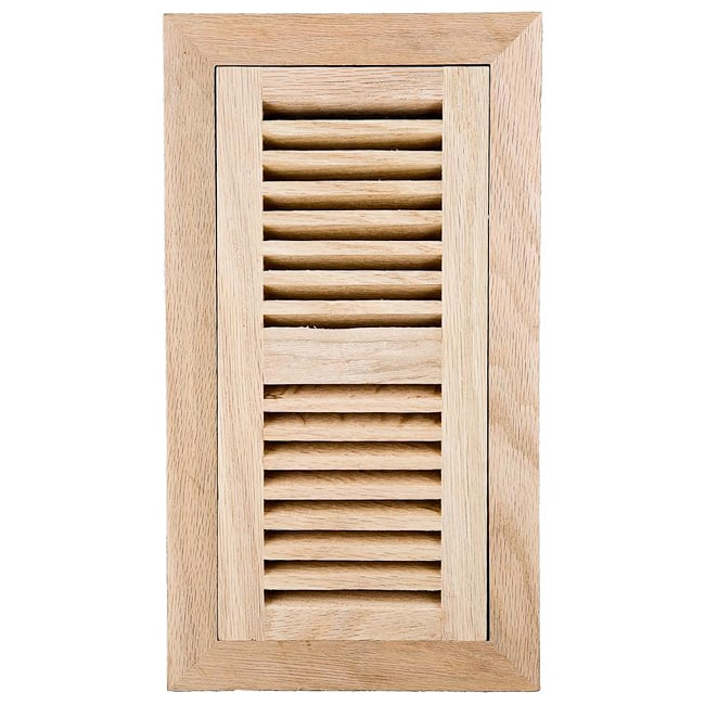Image Flooring 4x12 Inch Unfinished Red Oak Wood Vent