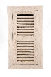 Image Flooring 4x12-inch Unfinished White Oak Wood Vent - Thumbnail 1