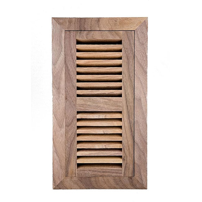 image flooring 4x10 inch unfinished walnut wood vent free shipping