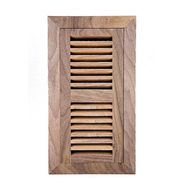 Image Flooring 4x14-inch Unfinished Walnut Wood Vent