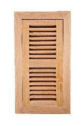 Image Flooring 4x10-inch Unfinished American Cherry Wood Vent