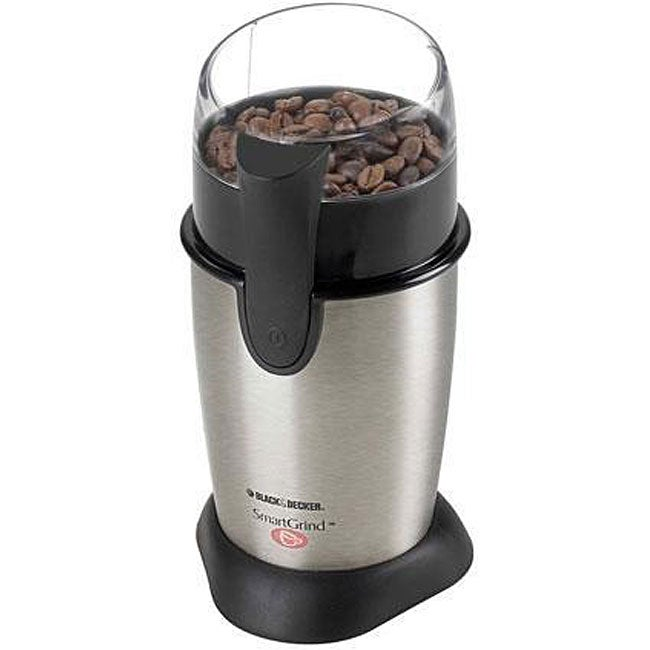 Black & Decker CBG100S Stainless Steel Coffee Grinder