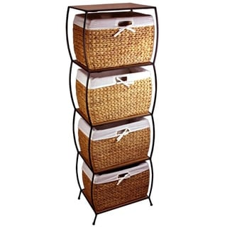 Rattan 2-drawer File Cabinet - Free Shipping Today - Overstock.com ...