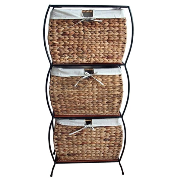 Rattan 3 drawer File Cabinet Free Shipping Today