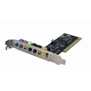 StarTech.com 7.1 Channel PCI Digital Surround Sound Adapter Card - 24