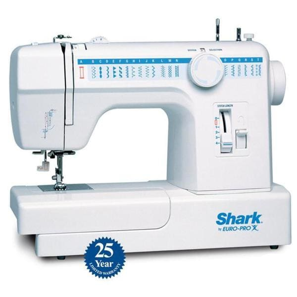 Shop Euro Pro Shark 40 Stitch Sewing Machine Free Shipping Today Adorable Shark Automatic Sewing Machine