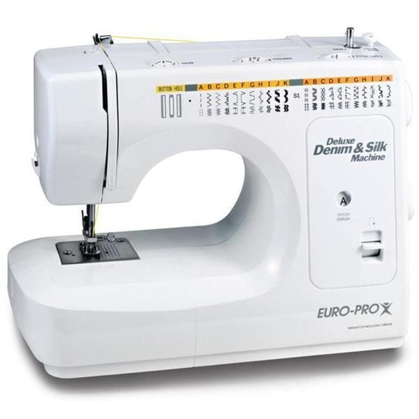 Shop Euro Pro Denim And Silk Sewing Machine Free Shipping Today Enchanting Euro Pro Denim And Silk Sewing Machine
