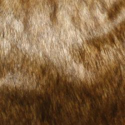 Aurora Home Coyote Faux Fur Pillows (Set of 2) - Thumbnail 1