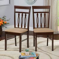 Simple Living Carson Dining Chair Set of 2 Deals