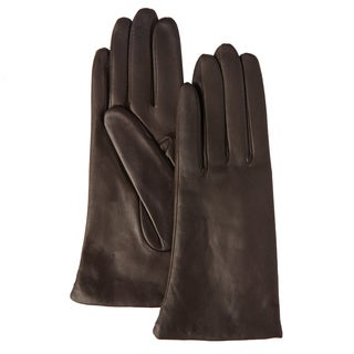 Portolano Women's Leather and Cashmere Gloves