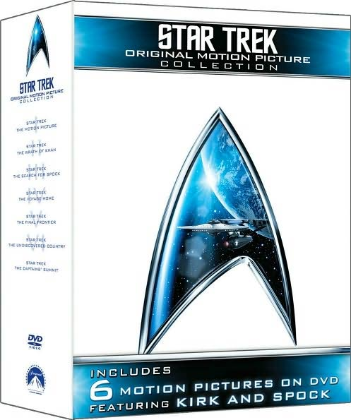 Star Trek: Original Motion Picture Collection (DVD) - Thumbnail 0