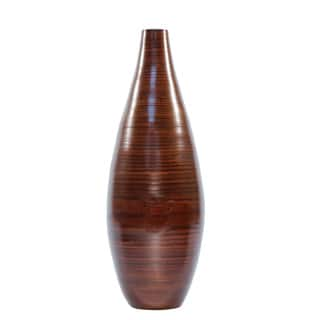 Brown Bamboo 24-inch Floor Vase and Forsythia https://ak1.ostkcdn.com/images/products/4140163/P12143343.jpg?impolicy=medium