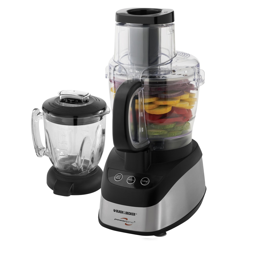 Black & Decker FP2620S Wide Mouth Combo Food Processor an...
