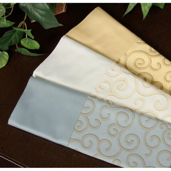 Cotton Capri 400 Thread Count Printed Duvet Cover Set