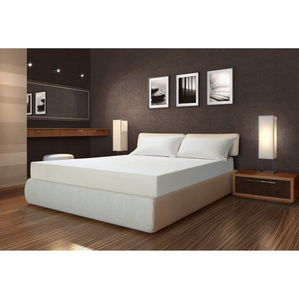 Sarah Peyton Firm Support 10-inch Twin-size Memory Foam Mattress with Pillow