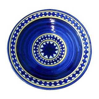 Ceramic X-large Nauticale Plate (Morocco)