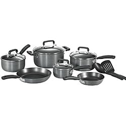T-Fal Anodized 12-piece Cookware Set