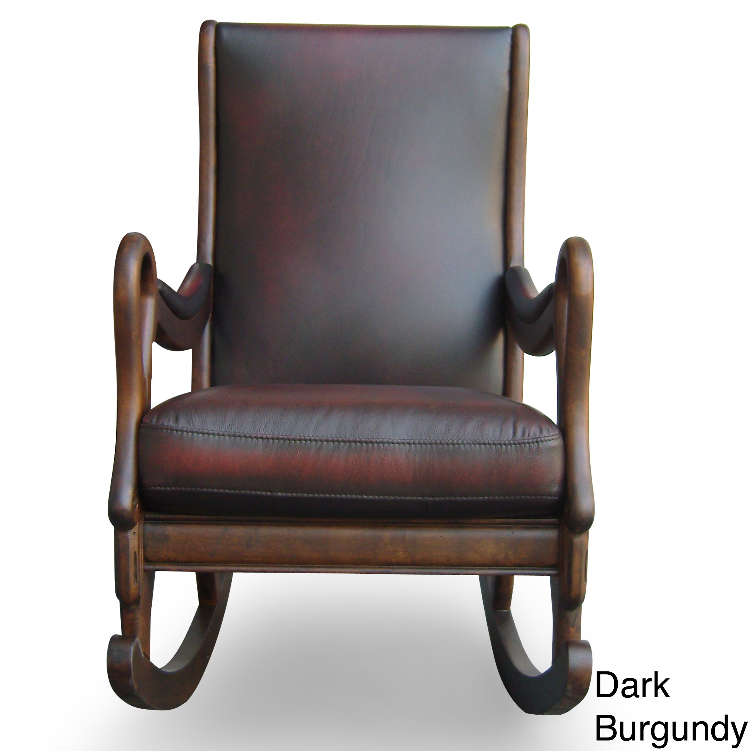 new arrivals 4a1c1 2eb52 Vintage Leather Rocking Chair