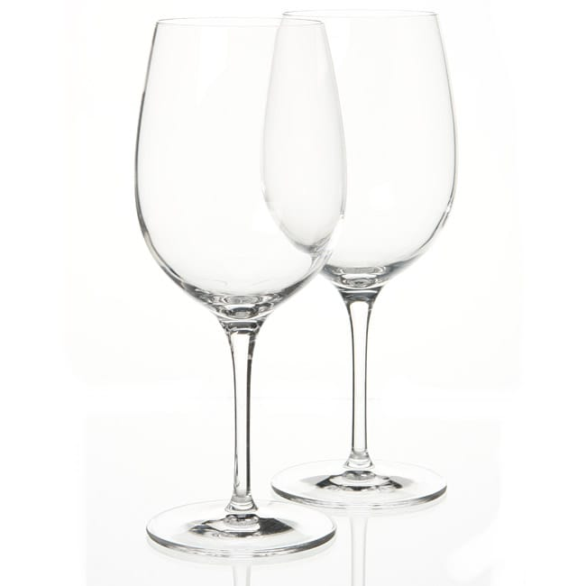 Luigi Bormioli SON.hyx Crystal Palace 16.25-ounce Wine Glasses (Set of 6)